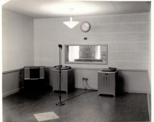 WOWO-FM studios 1952