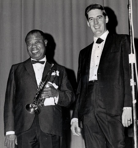 Louis Armstrong with Doug Stephens