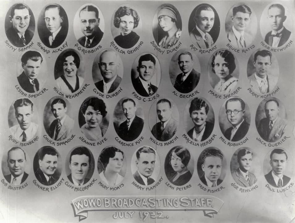 WOWO Staff 1932