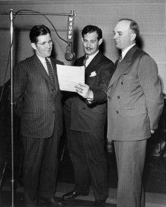 WOWO FM Studio, 1941