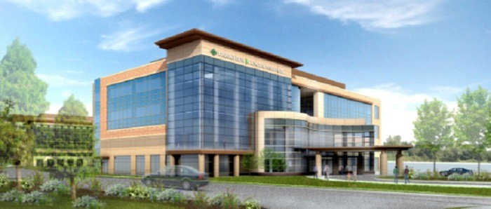 Parkview cancer institute hits construction milestone for The parkview