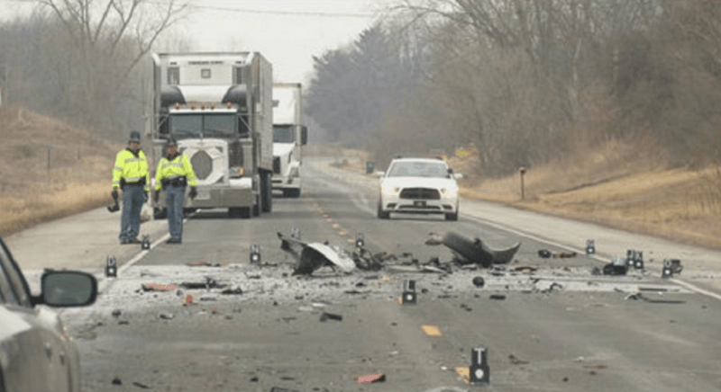 Kendallville man killed in crash on U S  6 near Noble/DeKalb county