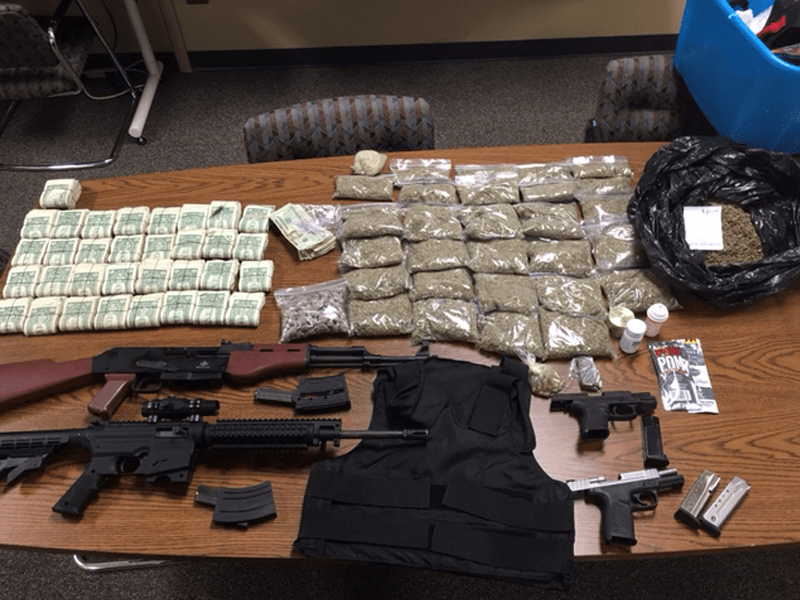 Guns and drugs recovered during Fort Wayne raids - WOWO 1190 AM ...