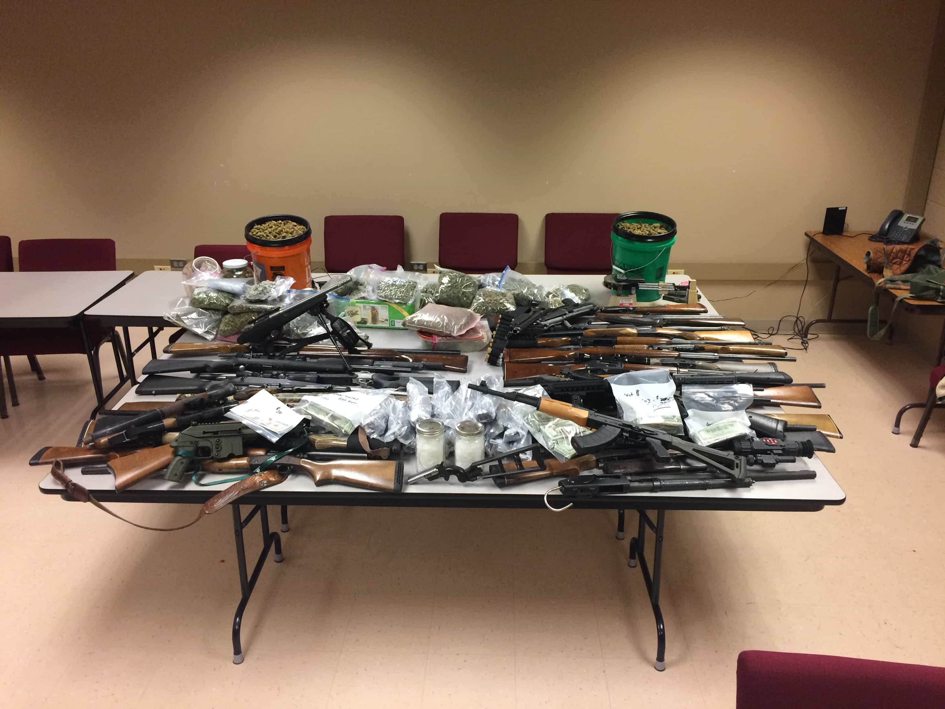 Four arrested, $80,000 found in Noble County drug bust - WOWO 1190