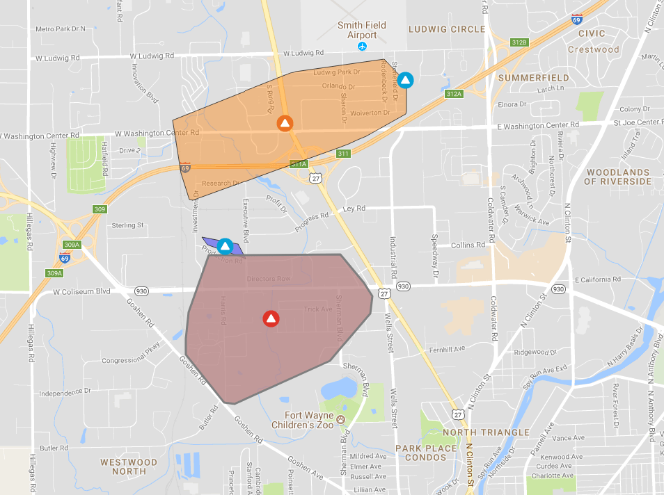 Indiana And Michigan Power Outage Map.Northern Fort Wayne Power Has Been Restored Wowo 1190 Am 107 5 Fm