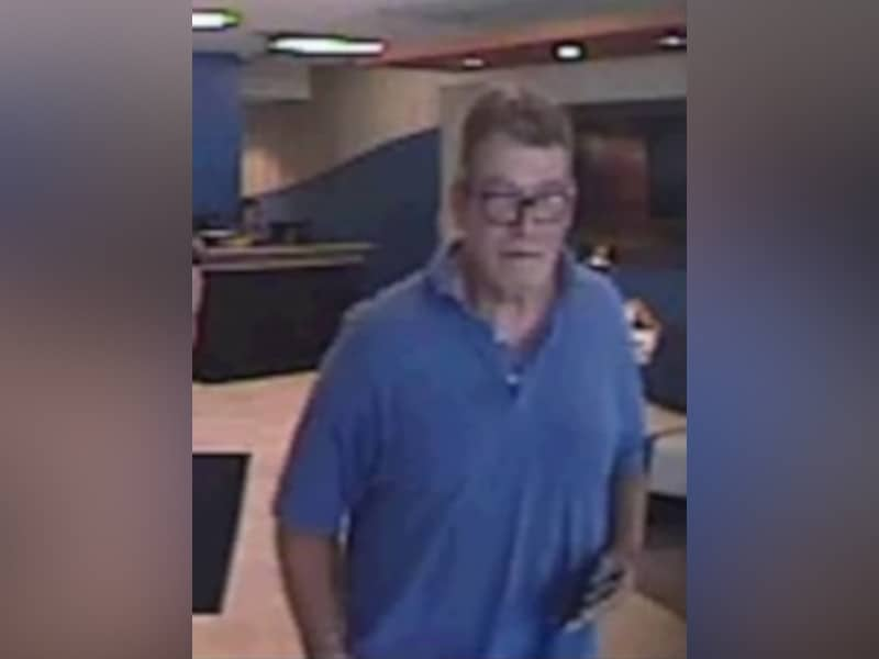 FWPD Search For Person Of Interest In Bank Robbery